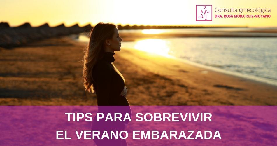 Tips para sobrevivir el verano embarazada