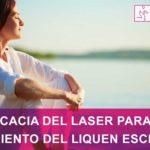 Eficacia del laser para el tratamiento del liquen escleroso